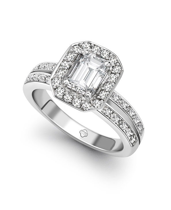 Diamond ring; diamond enagement ring