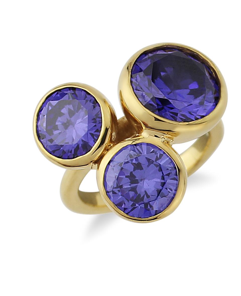 Candy 14ct gold Tanzanite ring
