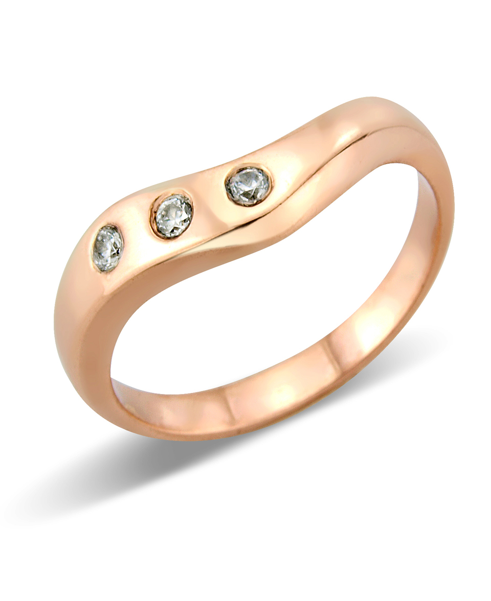 Gold Wedding Ring set with diamonds