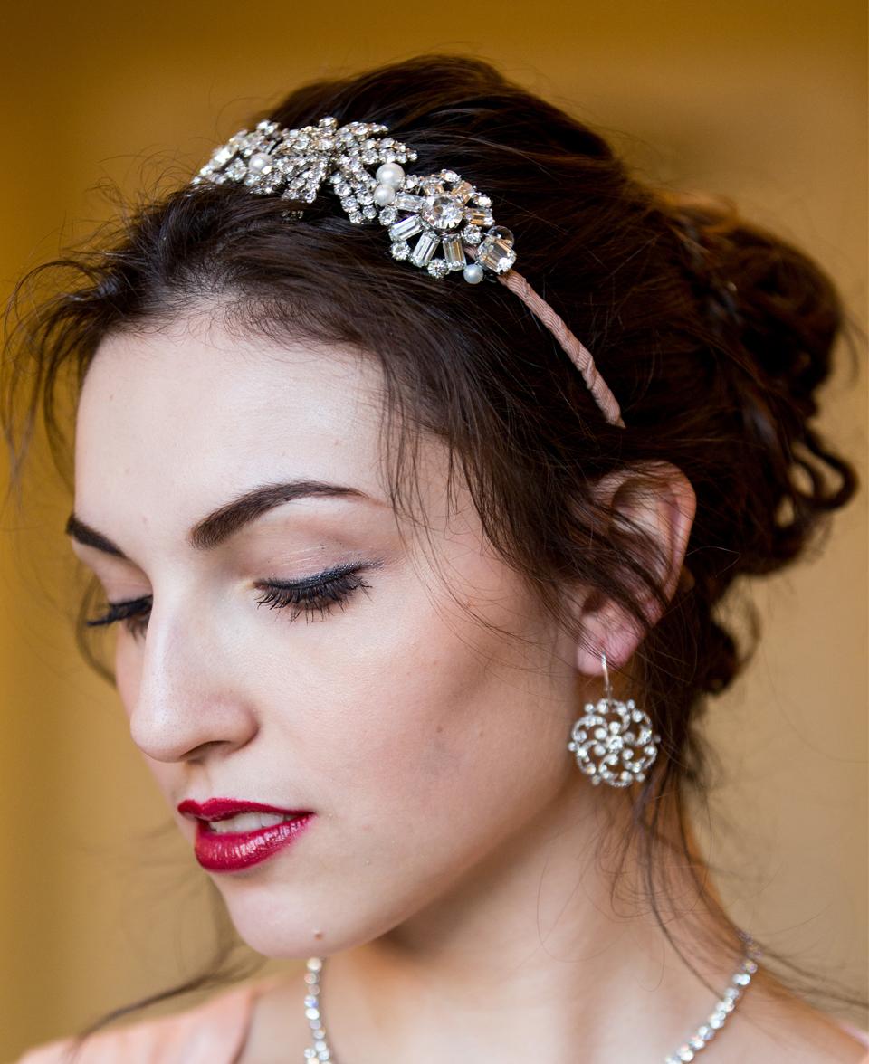 Vintage Wedding Headpiece, Designer wedding Headpiece, bridal hair accessory