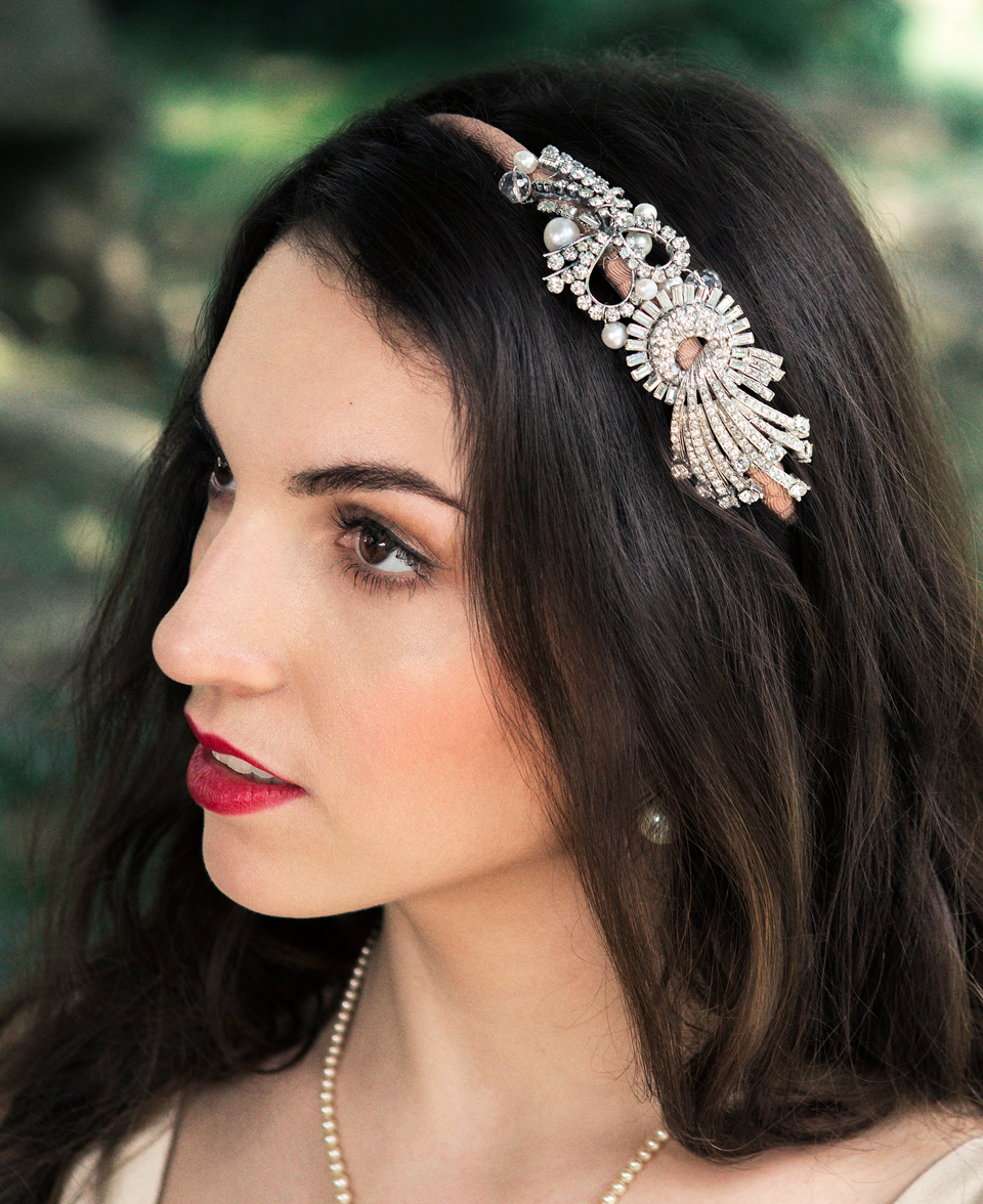 Vintage Wedding Headpieces: Krausz Jewellery