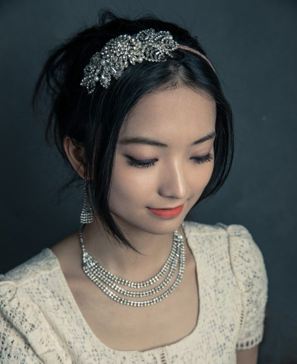 floral bridal vintage headpiece